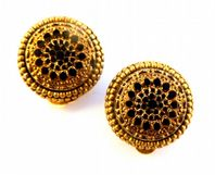 Vintage Victorian Style Clip On Earrings By Sphinx.